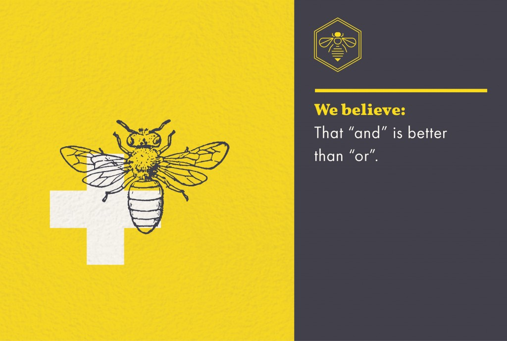 Honeybee Belief - And is better than Or